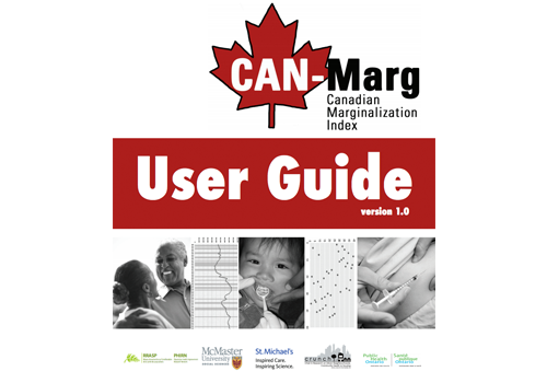 Download a copy of the CAN-Marg user guide.