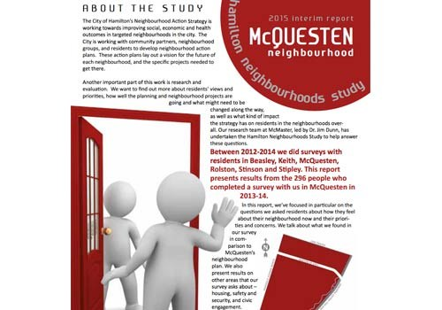 2015 Interim Report: McQuesten Neighbourhood