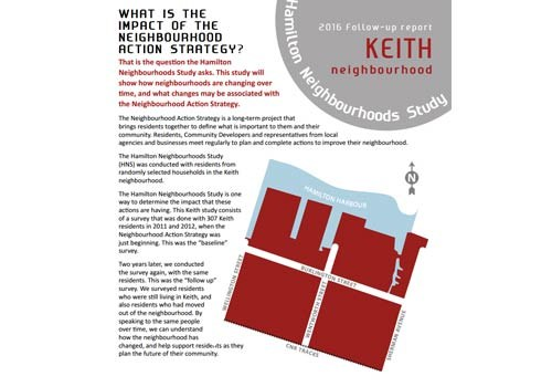 2016 Follow-up Report: Keith Neighbourhood